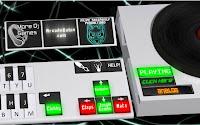 Mesa de mistura de DJ