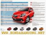Spesifikasi Teknis Mobil Honda Brio Satya
