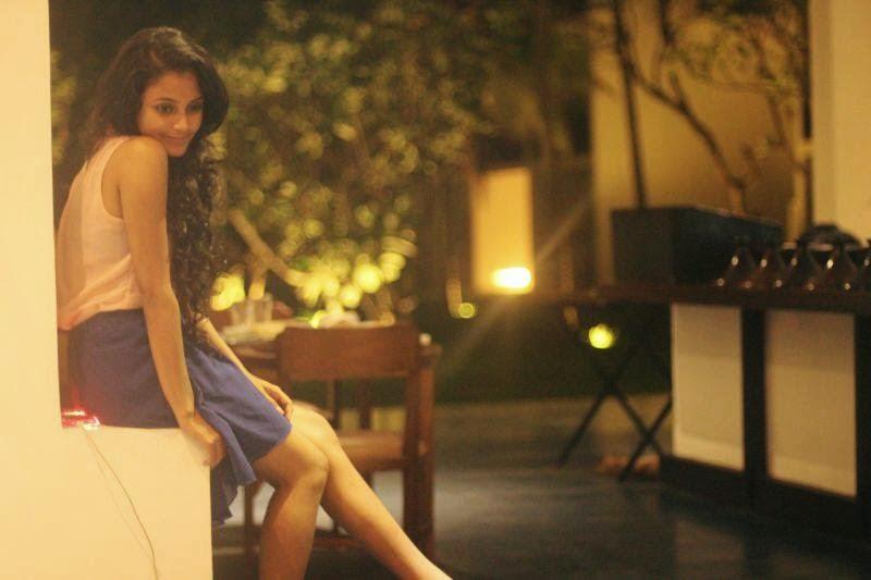 Dinakshie Priyasad blue