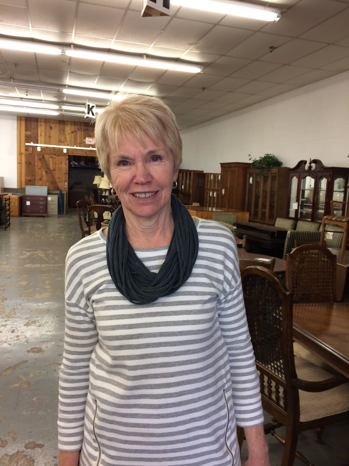 Store Operations Manager, Connie Kluckman