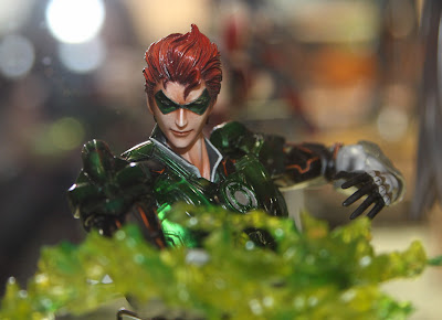 Square Enix Play Arts 2013 Toy Fair Display - DC Universe Green Lantern figure