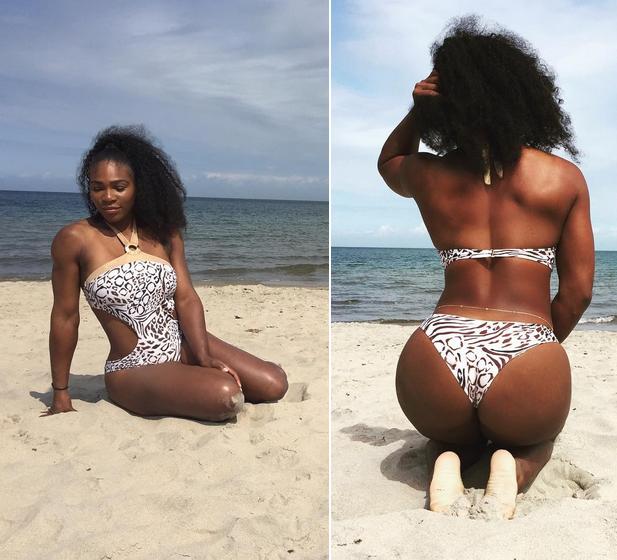 Serena williams sexy butt