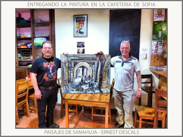 SANAHUJA-PINTURA-CAFETERIA-PAISATGES-LLEIDA-CATALUNYA-CUADROS-PAISAJES-PINTOR-ERNEST DESCALS-