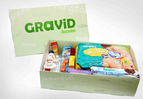 gravid gratis box