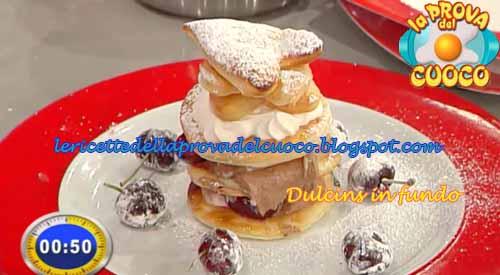 Dulcis in fundo ricetta Marretti da La Prova del Cuoco