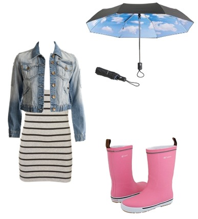 What do you wear on rainy days??
