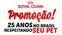 Cadastrar Promoção Royal Canin 25 anos viagens