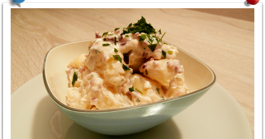 Patate alla tedesca kartoffelsalat imparare l 39 arte - Imparare l arte della cucina francese ...