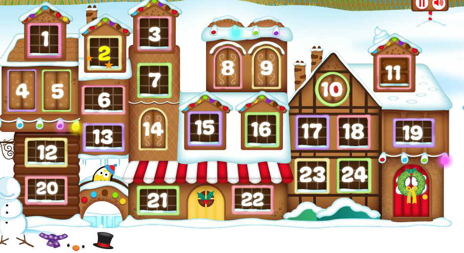 Los Rosales in English.: Online Advent Calendars