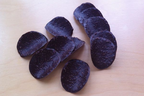 Aldi Choceur Mint Dark Chocolate Waves vegan