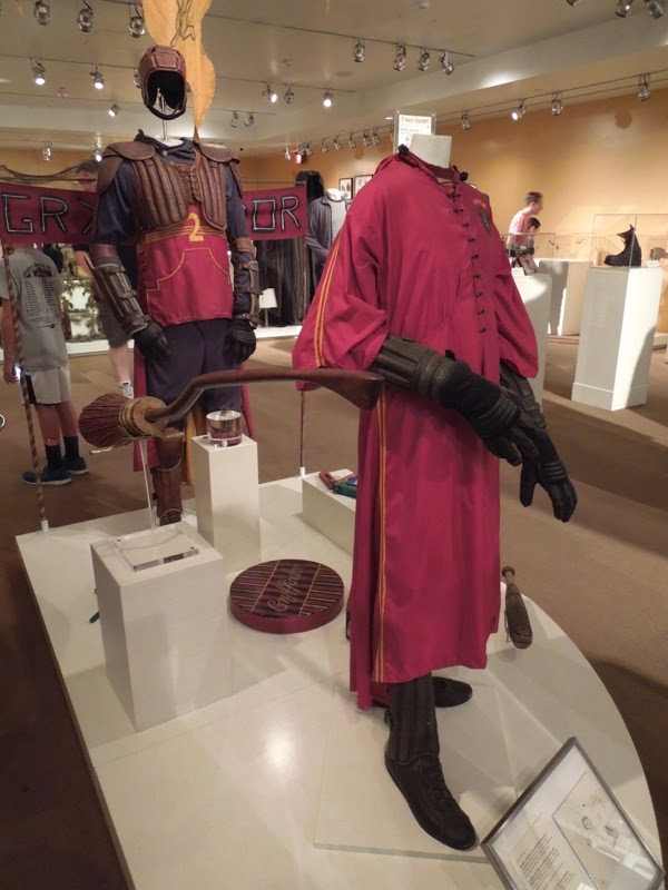 Harry Potter Quidditch movie costumes props