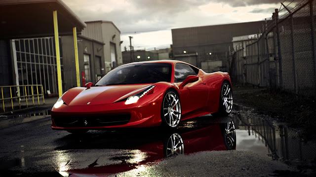 Ferrari 458 Ittalia Red