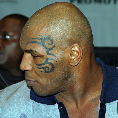 Moari tyson tattoo picture