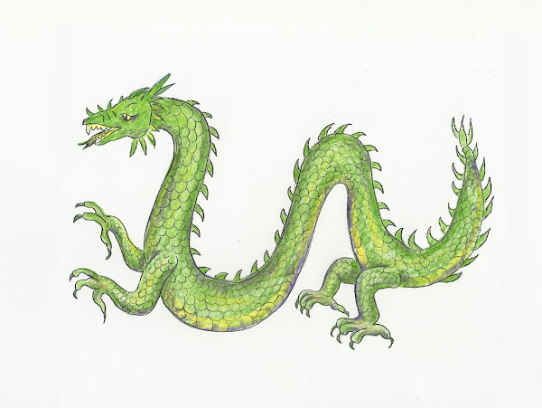 how to draw cool dragon drawings � coloringsnet