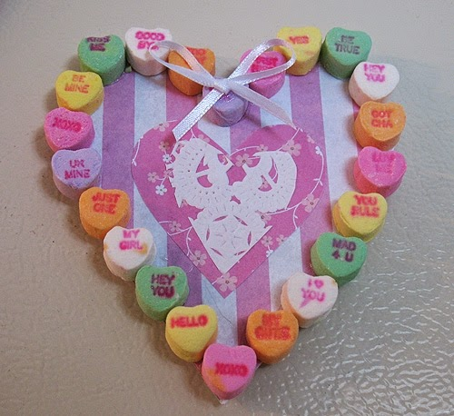 Munchkins and mayhem valentine heart magnets for Where to buy magnets for crafts