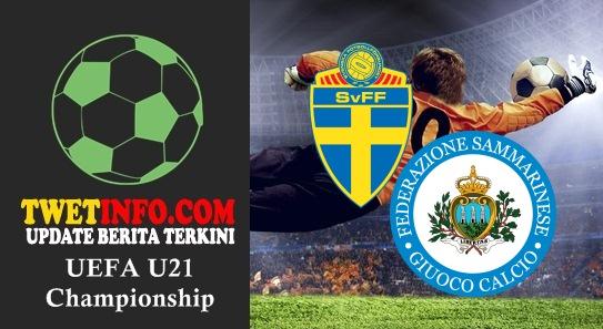Prediksi Sweden U21 vs San Marino U21, UEFA U21 03-09-2015