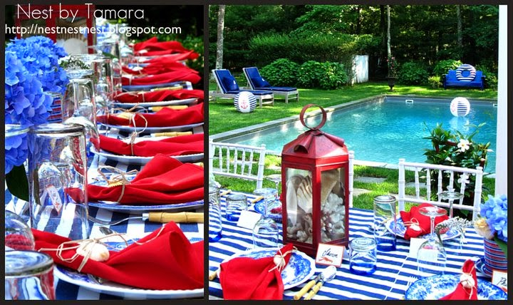 My East Hampton July 4th Dinner Party with recipes &amp; tips to be in Traditional Home Magazine!