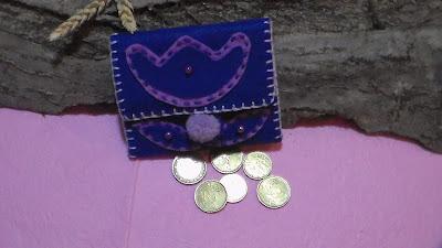 portamonete in feltro - gefilzte Taschen - felted purses - bolsos de fieltro - portamonete fai da te