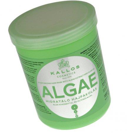 Kallos Algae, czyli nawilzajaca maska do włosów z ekstraktem z alg i oleju oliwkowego