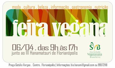 1ª Feira de Cultura Vegana de Florianópolis