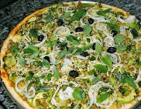 Pizza Verde (vegana)