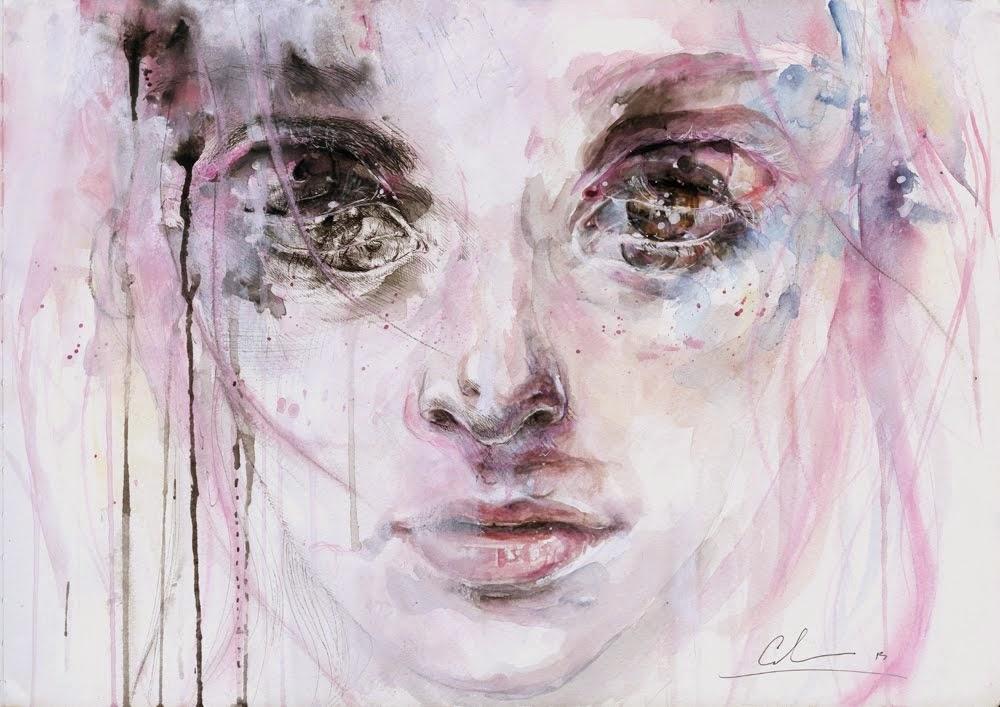 art. (artwork by agnes cecile)