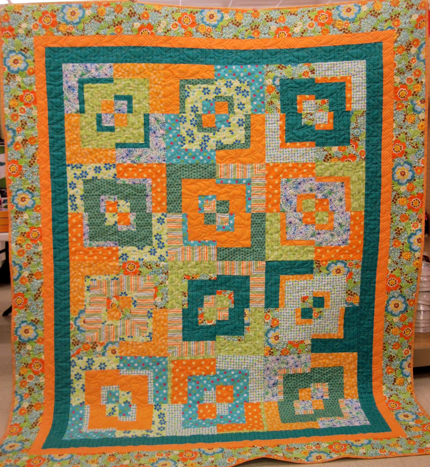 Jean's Quilting Page: Potato Chip quilt finished! : potato chip quilt pattern - Adamdwight.com