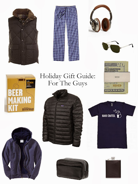 Holiday Gift Guide for the Guys