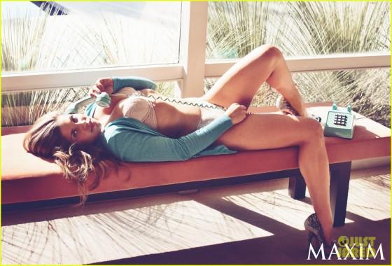 Danielle Fishel Maxim 2013
