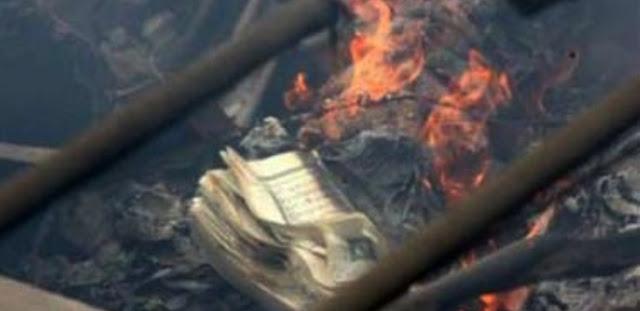 Tolong Bantu Sebarluaskan Jangan Sampai Terhenti Di Anda: (Astaghfirullah) Masjid Dirusak Saat Natal, Alquran Dibakar dan Dibuang ke Jalan