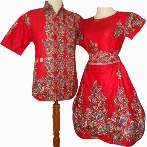 Model Baju Batik Couple Natal Ngetren 2015 2017