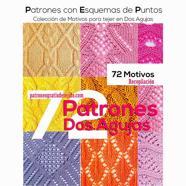 Libro de 72 patrones tricot en esquemas pdf gratis