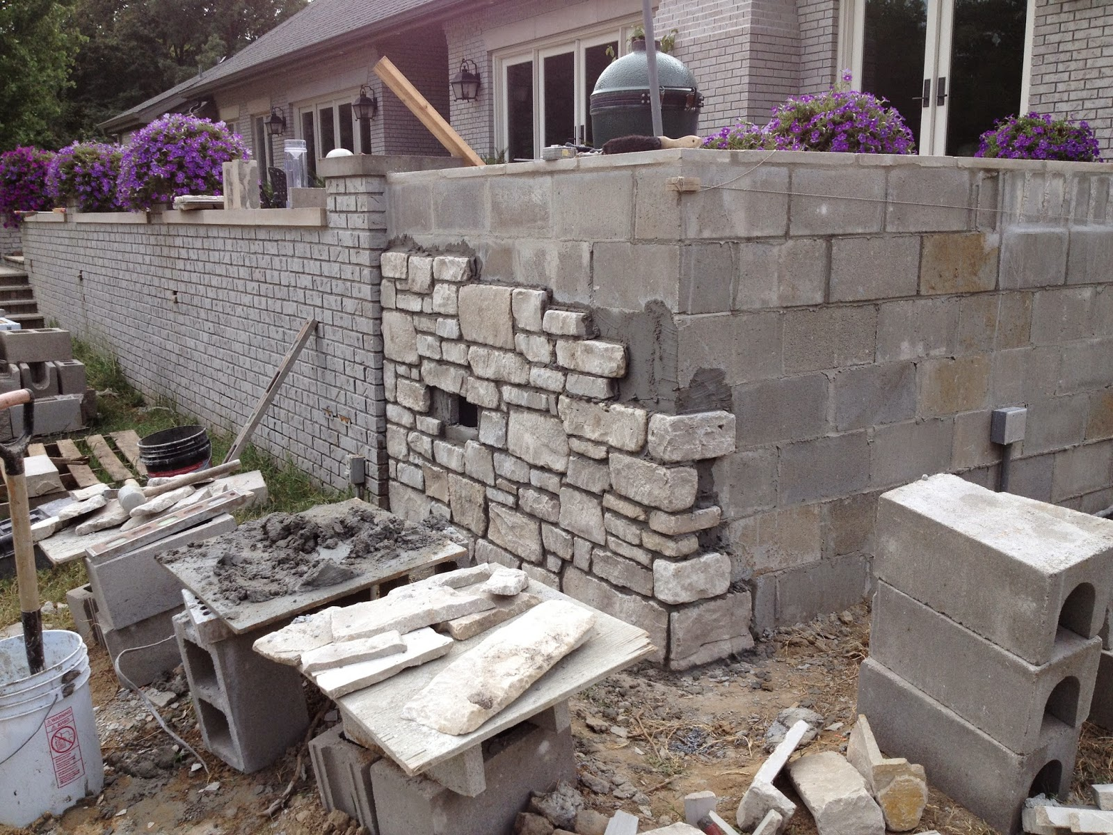 custom stoneworks design inc stone veneer installed baltimore