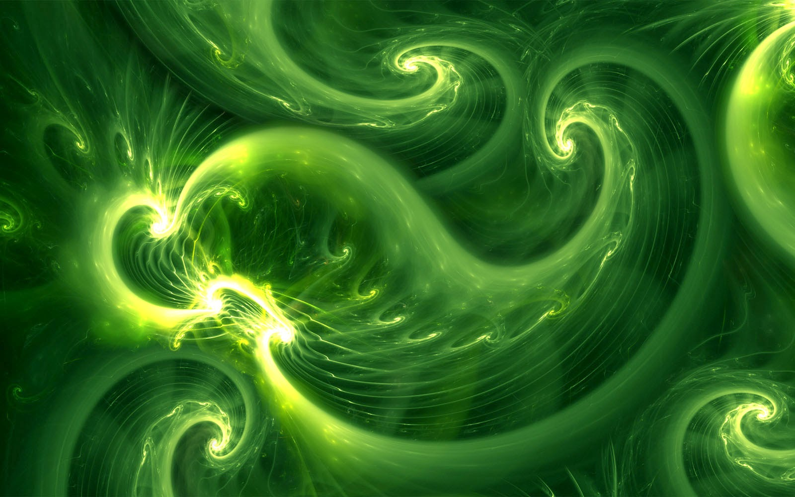 wallpapers: Abstract Green Wallpapers