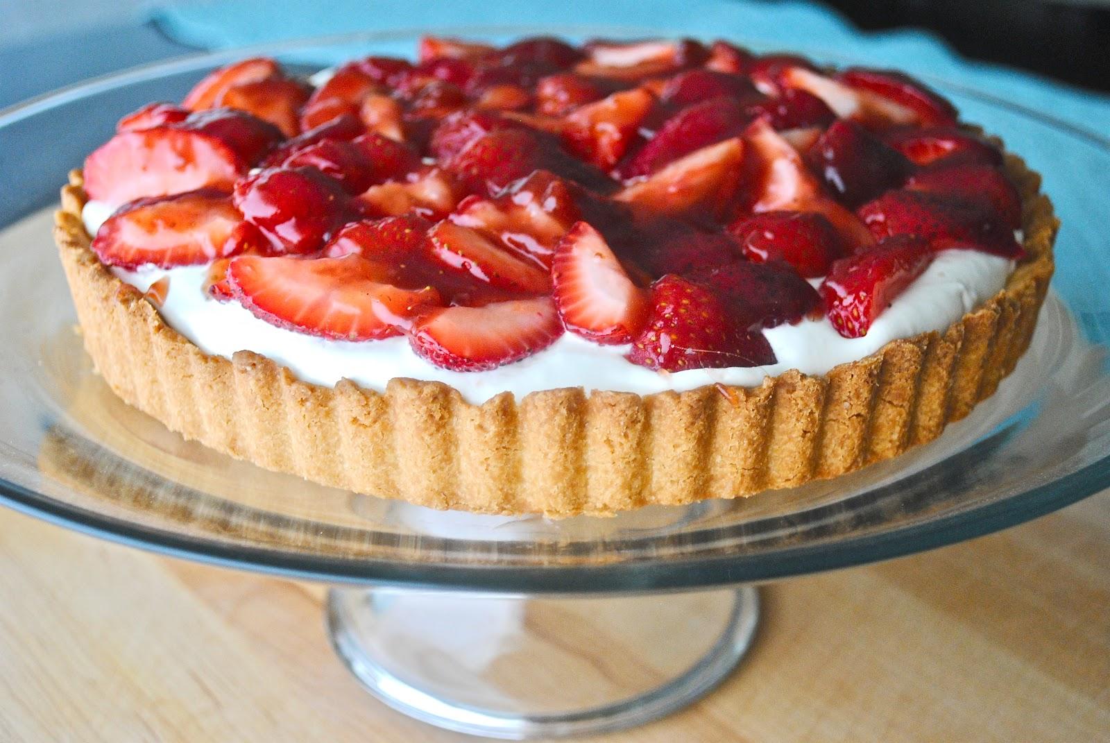 Strawberry Mascarpone Tart - The Chronicles of Home