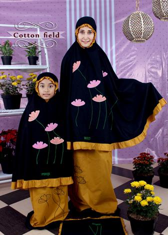 Mukena Cantik Fathiya Cotton Field