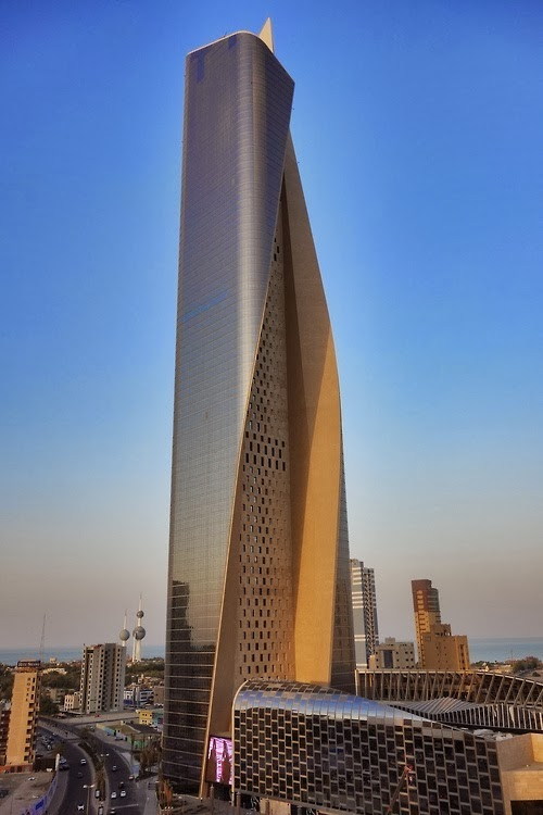 Al Hmara Tower, the skyscraper in Kuwait