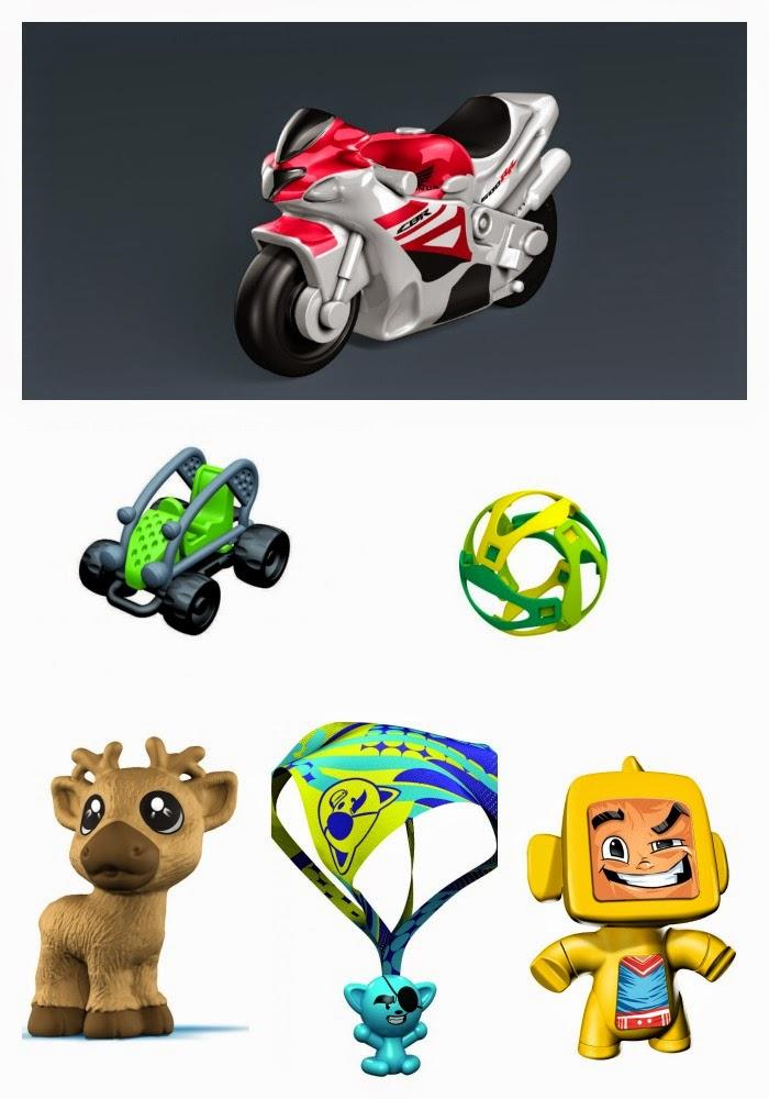 2015 Kinder Surprise toys