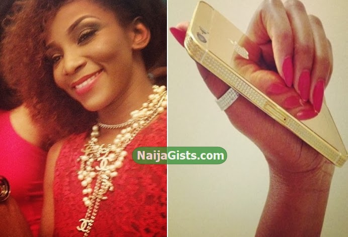 genevieve nnaji $5000 iPhone 5s