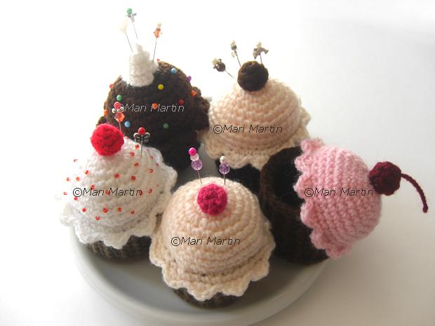 Crochet Cupcake