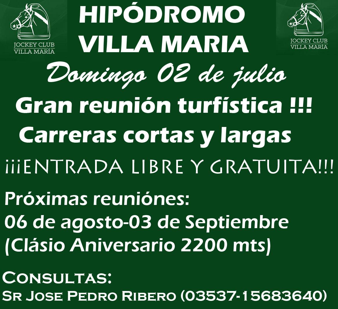 HIPODROMO VILLA MARIA