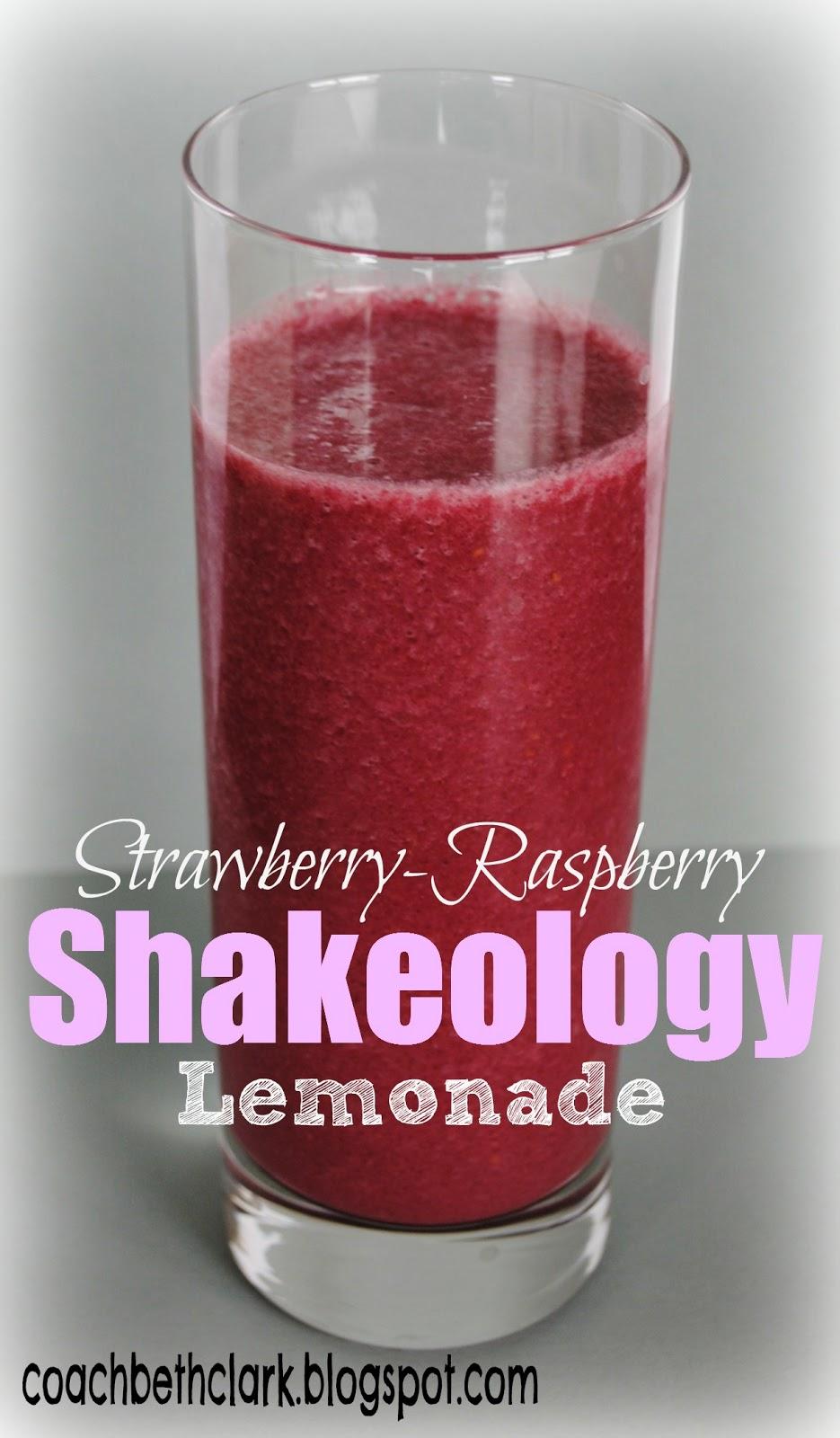 Body Remodel Fuel Your Body Friday Pink Lemonade Shakeology