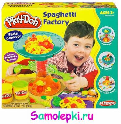 фабрика спагетти, плэй дох