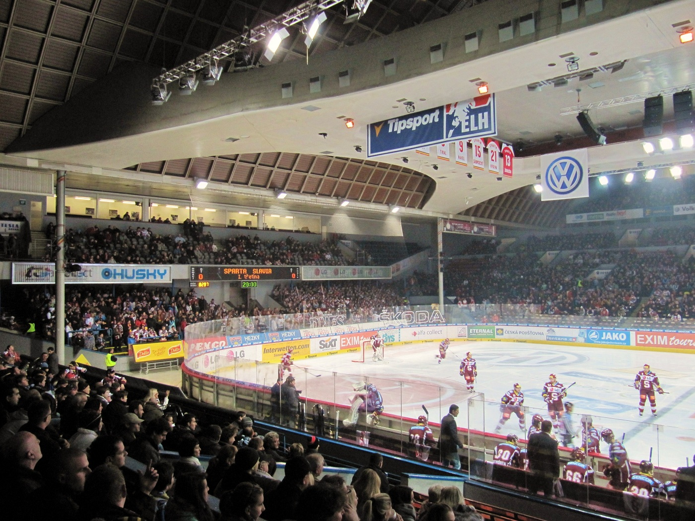 Czech Hockey Report Rink Review Tipsport Arena In Prague