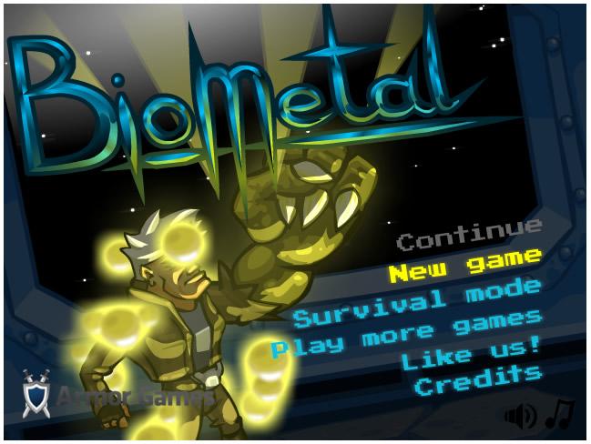 Armor Game : Biometal