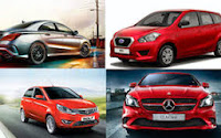 New SUV, sedan and hatchbacks