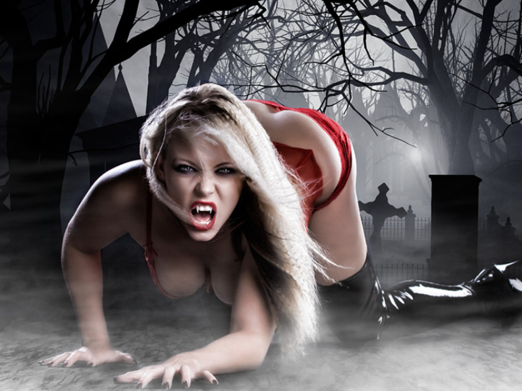Самые сексуальный вампир