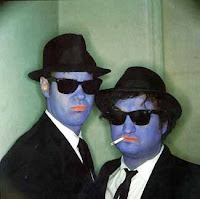 The Blues Brothers as captured by Annie Leibovitz