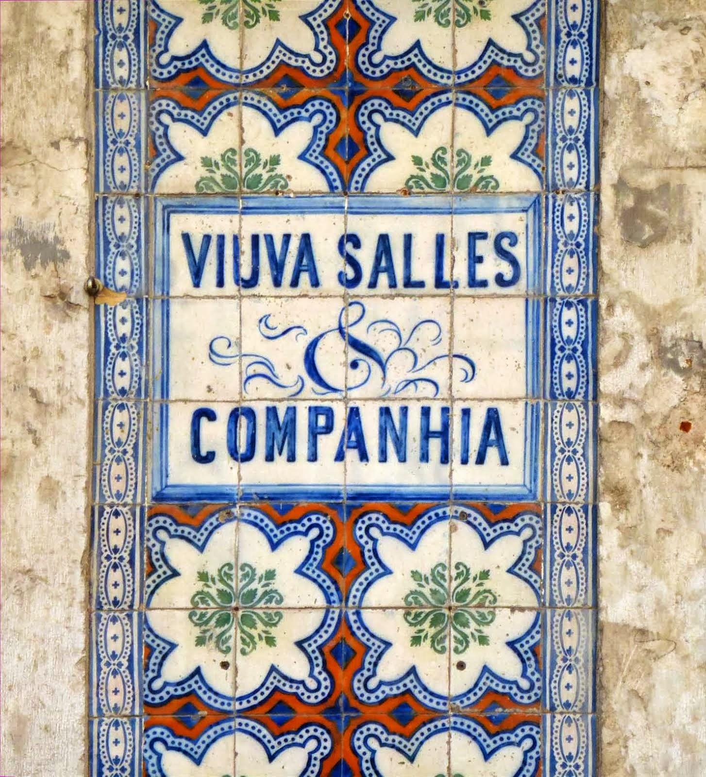 Détail de façade azulejos