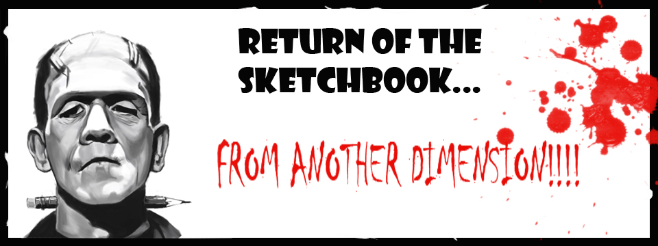 Return of the Sketchbook From Another Dimension